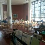 野幌公民館のロビーは居心地良し【北海道江別市】
