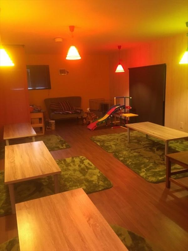 cafewatoto座敷スペース