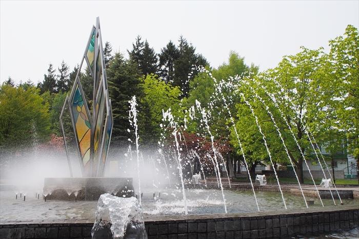 野幌グリーンモール噴水