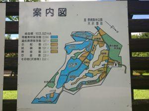 試験林案内図