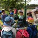 春の森の日、野幌小学校の自然体験学習!