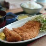 大衆食堂ばんざい!「お食事処 藤」でとんかつ定食【北海道江別市】