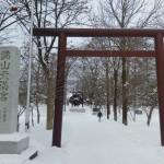 元旦に錦山天満宮、江別神社、大麻神社に元旦初詣に行きました。