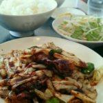 担担麺の名店「柳華亭」で回鍋肉(ホイコーロー)_こりゃぁたまらん♪