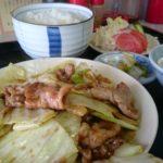 回鍋肉レポート第5弾_三番通り沿いの中華料理屋「天山」で回鍋肉定食【北海道江別市】