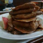 文京台東町「まんぷく食堂」の生姜焼定食の豚肉を積み重ねてみた【北海道江別市】