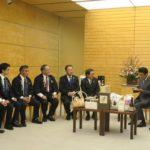 安倍首相に江別の特産品をPR!官邸訪問に同行しました!